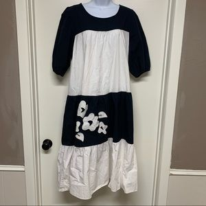 Vintage Appel Union Made Embroidered Dress